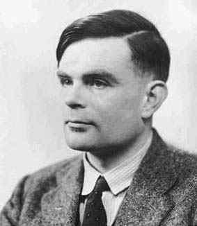 Alan Turing portrait